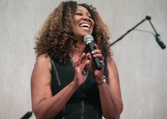 Yolanda Adams performing at the LM Foundation's domestic violence awareness concert held at Nineteenth Street Baptist Church in Northwest on May 6, 2017/Photo by Shevry Lassiter