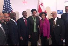 Mayor Muriel Bowser and the Commission on Fathers, Men and Boys (Courtesy of cfmb.dc.gov)