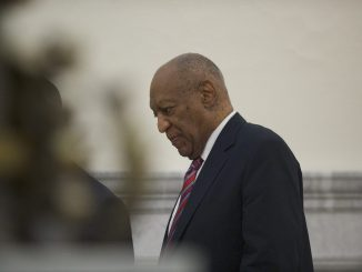 Bill Cosby walks through the Montgomery County Courthouse on the third day of his sexual assault trial in Norristown, Pennsylvania, on June 7, 2017. (Mark Makela/Getty Images, Pool)