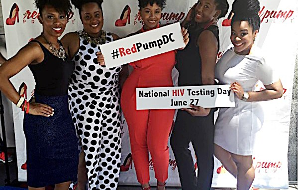 The fourth annual Red Pump Project Soiree in D.C., one of the organization's premier cities (Red Pump)
