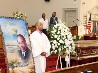 City gathers for memorial of the Rev. Lewis Anthony (WI photo)