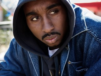 "Demetrius Shipp Jr. stars as Tupac Shakur in the rapper's 2017 biopic ""All Eyez on Me."" (Courtesy photo)"