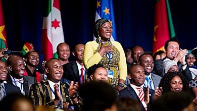 Mandela Washington Fellows during 2015 Summit (Courtesy of yali.state.gov)