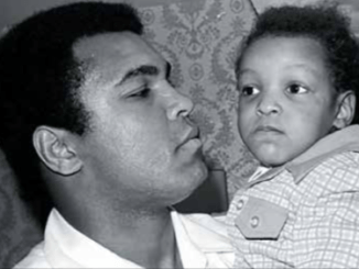 A father's love: Muhammad Ali and Muhammad Ali Jr. (Courtesy photo)
