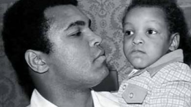 A father's love: Muhammad Ali and Muhammad Ali Jr. (Courtesy photo)