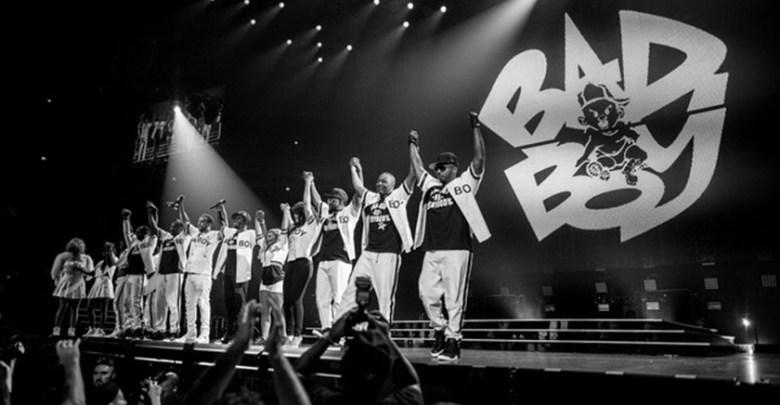 Bad Boy recording artists at 20th Anniversary Reunion (Bad Boy Films)