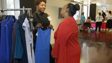 """The """"Suited for Change"""" event took place Wednesday, July 19 at the Pepco Edison Place Gallery in Northwest DC./Photo courtesy Pepco, Suited for Change"""