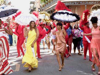 "From left: Queen Latifah, Regina Hall, Jada Pinkett Smith and Tiffany Haddish in ""Girls Trip"" (Universal Pictures)"