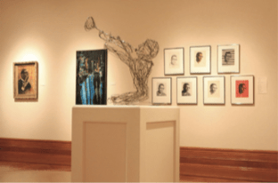 One of the many galleries featured in the Hampton University Museum in Hampton, Va. (Courtesy of Hampton History Museum)