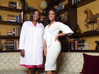 Regina Hampton and Jasmine Jones (Courtesy of Cherry Blossom Intimates)