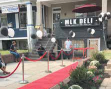 The MLK Deli is open from 7 a.m. to 7 p.m, Mon.-Sat. (DR Barnes/The Washington Informer)