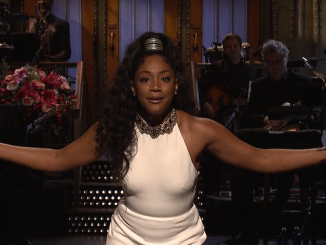 "Tiffany Haddish made ""Saturday Night Live"" history by hosting the Nov. 11 episode, becoming the first black female standup comic to host the show in its 43 seasons."