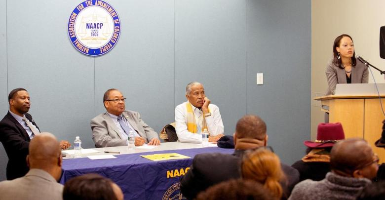 """The NAACP holds the last stop of its """"NAACP Forward: Today, Tomorrow & Always Listening Tour"""" in D.C. on Dec. 4. (Mark Mahoney/The Washington Informer)"""