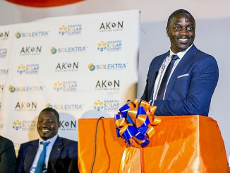 Akon is continuing his mission of lighting Africa with his solar company. (Courtesy of Akon Lighting Africa)