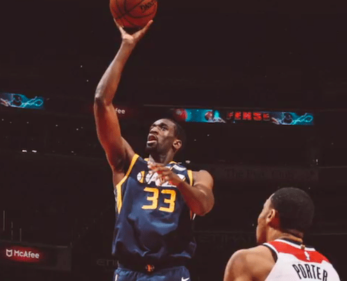 Courtesy of the Utah Jazz via Twitter