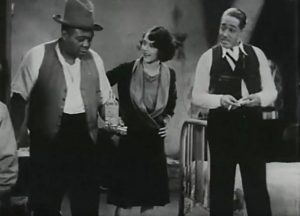 "Fredi Washington (center) and Duke Ellington, (right) star in Dudley Murphy's 1929 short ""Black and Tan."" (Courtesy of RCA)"