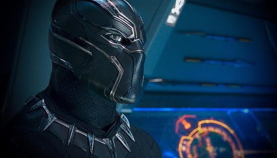 "Chadwick Boseman stars in ""Black Panther."" (Marvel)"