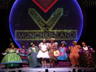 "Dorothy and the Munchkins celebrate during ""The Wiz."" (Courtesy of Ford's Theatre)"