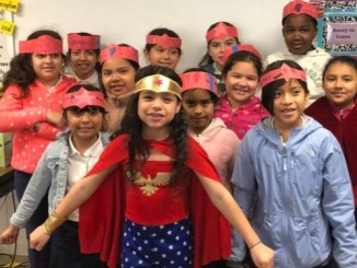 Students at Mary Harris Jones Elementary School in Adelphi recently celebrated PARCC Spirit Week. (Courtesy of PGCPS)