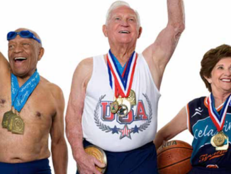 Seniors keep fit and compete in sporting events. (Courtesy of PR Web)