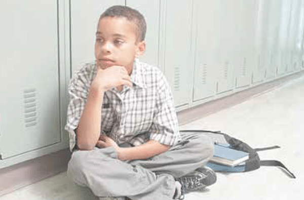 Black children are suspended or expelled from school much more often than whites. (Courtesy of Blackparents.org)
