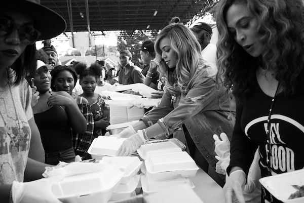 Beyonce's BeyGOOD Foundation assists the homeless, unemployed and sick children. (Courtesy of beyonce.com)
