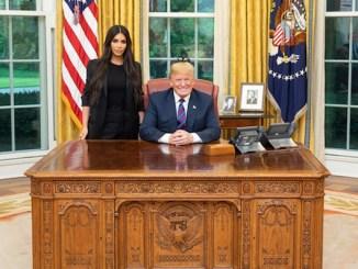 Donald Trump, Kim Kardashian West