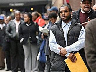 More Blacks are standing in unemployment lines. (Courtesy of New Pittsburgh Courier)