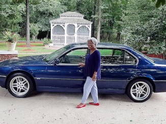 Patricia Daniels will raffle off her BMW. (Courtesy photo)