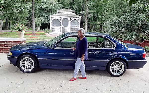 Patricia Daniels will raffle off her BMW. (Courtesy photo)