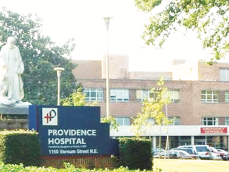 Providence Hospital is slated for a transition in services from acute to preventative care at the end of 2018. (Courtesy photo)