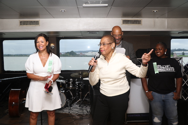 The Anacostia Coordinating Council holds its annual boat ride on the Spirit of Washington on Oct. 4. (Shevry Lassiter/The Washington Informer)
