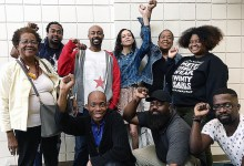 Members of the Black Alliance for Peace, a group comprised of several grass-roots Black leftist organizations committed to ending U.S. imperialism (Courtesy photo)
