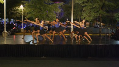 Students from The Washington Ballet perform at the After Dark @THEARC Gala on Sept. 29. (Courtesy of THEARC)