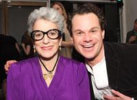 Donor Patricia Baumand and James Alefantis