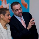 The Honorable Eleanor Holmes Norton; Mr. Art Mbanefo, Board Chair, National Museum of African Art, Smithsonian Institution