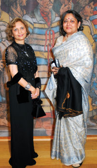 Nunda Ambegaonkar and Vandana Sheth