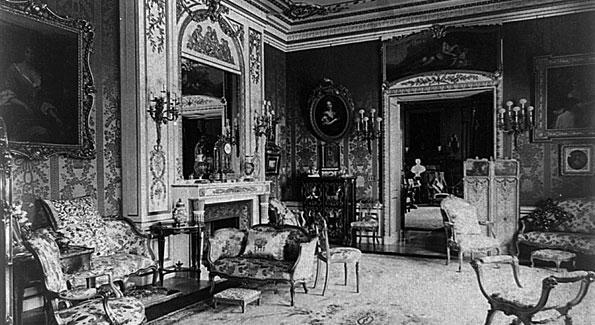 Mary Scott Townsend's living room