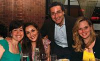 Andre Maaseida and Mahrak and Shahib Farivar with Libbie Feldner