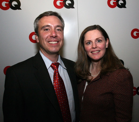 Michael Mershon (Rep. Jim McGovern's office) and wife Alicia Jennings (senior White House producer for NBC News)