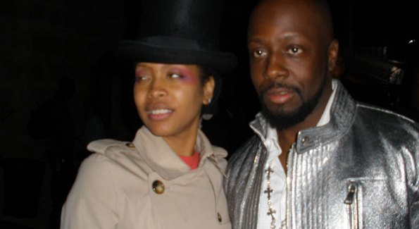 Erykah Badu and Wyclef Jean