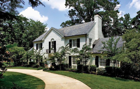 The 6-bedroom, 8-bath residence at 4935 Loughboro Rd. NW features a first floor au pair/in-law suite. It recently sold for just under $3 million.