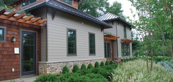 "1310 Calder Road, McLean's first ""carbon neutral"" house."