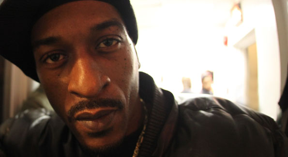 Hip Hop Emeritus Rakim after the National Geographic Symposium