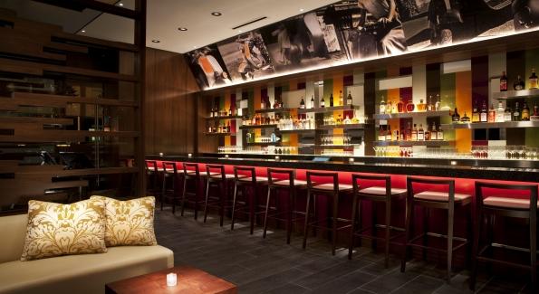 The bar at Bibiana Osteria & Enoteca