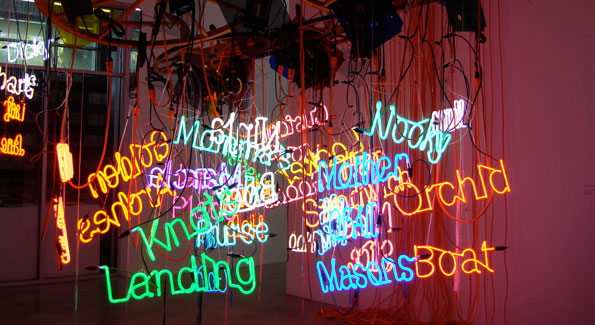 "Jason Rhode's installation, ""Untitled,"" 2004, Rubell Family Collection"