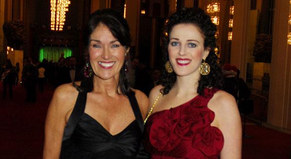 Debra Kraft and Emily Riffle, Photo By Kyle Samperton