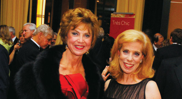 Jean Wolf and Patricia Sagon, Photo by Kyle Samperton