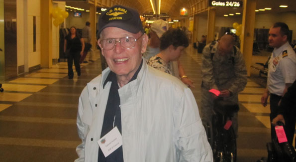 WWII veteran Edward Norton fought both in the Battle of Midway and Corregidor. (Photo by Jane Hess Collins)