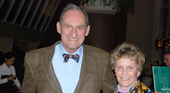 After 50 years of service to Washingtonians, Daniel and Karen Mayers are still giving back. (Photo courtesy of The Community Foundation of the National Capital Region)
